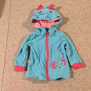 Fisher-Price Hooded Toddler Jacket with Ears
